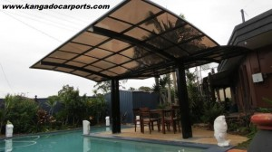 Kangado Single Carport 5.5mx3mx3m