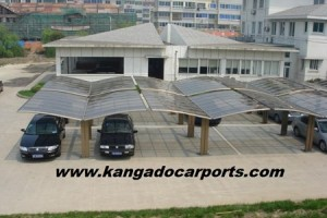 Kangado Double Carports5.5x6x3